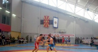 Two Azerbaijani Greco-Roman wrestlers qualify for final of World Military Championship