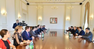 President Ilham Aliyev received PACE Referendum Assessment Mission