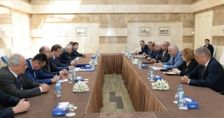 CIS Inter-Parliamentary Assembly observation mission visits Azerbaijan`s Central Election Commission