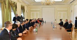 President Ilham Aliyev received European Academy for Elections Observation mission