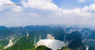 China puts into operation world's largest filled aperture radio telescope