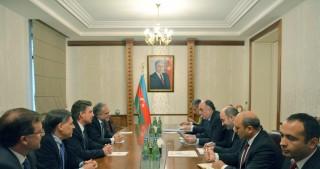 Azerbaijan`s FM meets Chairman of the House of Representatives of Uruguay