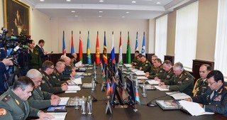 Chief of General Staff of Azerbaijani Armed Forces attends meeting of CIS Armed Forces Chiefs of Staff Committee
