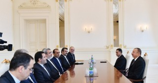 President Ilham Aliyev received delegation led by Iranian Interior Minister