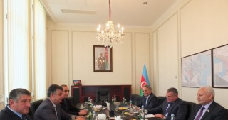 Azerbaijan`s parliamentary delegation visits the country`s Embassy to Georgia