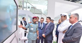 Azerbaijani delegation visits GITEX-2016 exhibition in Dubai