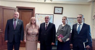 State Adviser on Multinational, Multicultural and Religious Affairs meets Bulgarian advisor