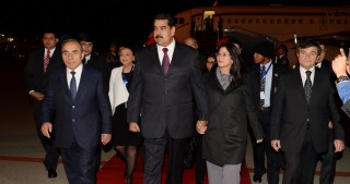 Venezuelan President arrives in Azerbaijan for official visit