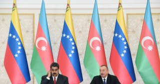 President Ilham Aliyev and President Nicolas Maduro made statements for the press