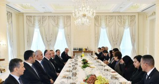 President Ilham Aliyev hosted official dinner for Venezuelan President