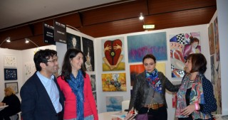 Azerbaijani artist presents her works at Carrusel de Louvre gallery