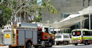 Ceiling panels collapse at Commonwealth Offices in Brisbane