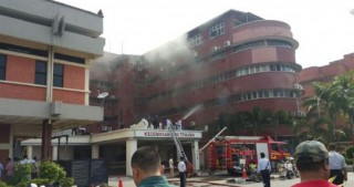 Six die in fire at Malaysian hospital