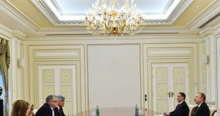 President Ilham Aliyev received delegation led by European Union Special Representative for the South Caucasus