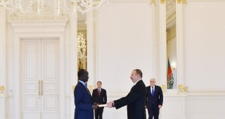 President Ilham Aliyev received credentials of South Sudanese Ambassador
