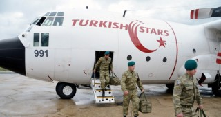 Group of Azerbaijani peacekeepers return home from Afghanistan