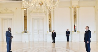 President Ilham Aliyev received credentials of incoming Eritrean Ambassador