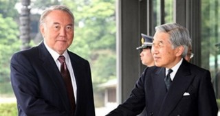 Kazakhstan's President discusses bilateral relations with Japanese Emperor