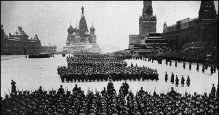 March to mark anniversary of legendary 1941 parade begins in Moscow
