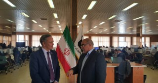 Chairman of Azerbaijan Press Council visits Iran