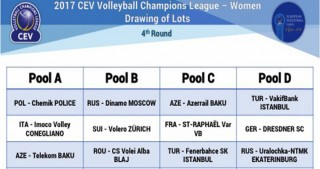 Azerbaijani volleyball clubs learn their potential rivals for CEV Women's Champions League