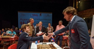 Magnus Carlsen v Sergey Karjakin match to start in New York