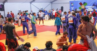 Azerbaijani U23 judo fighter into semifinal of European Championships