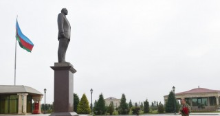 President Ilham Aliyev arrived in Fuzuli district for visit