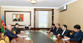 Chairman of Nakhchivan Supreme Assembly meets Iranian Ambassador