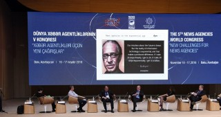 News agency innovation discussed at 3rd session of Baku Congress