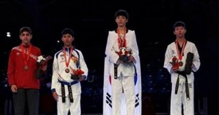Junior Azerbaijani taekwondo fighter wins world bronze