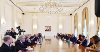 President Ilham Aliyev: Freedom of press is wholly provided in Azerbaijan