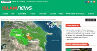 French website posts article about Nagorno Karabakh conflict