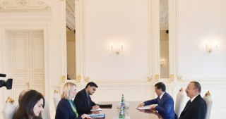 President Ilham Aliyev received US Deputy Assistant Secretary of State
