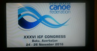 International Canoe Federation`s 36th Congress to convene in Baku