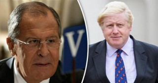 Russian, British FMs have phone conversation