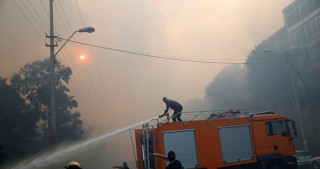 60,000 Israelis evacuated in Haifa as fires continue to rage