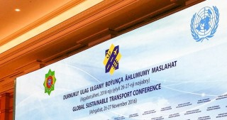 Global transport conference kicks off in Turkmenistan