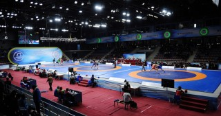 Azerbaijan's Aliyev wins gold at Golden Grand Prix