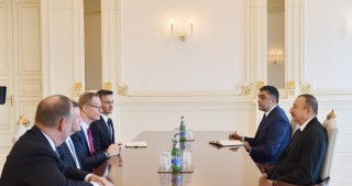 President Ilham Aliyev received CISCO Senior Vice President