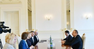 President Ilham Aliyev received British Prime Ministerial Trade Envoy for Azerbaijan