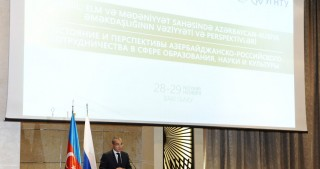Baku hosts conference dedicated to the Russia-Azerbaijan relations in education, science and cultural fields