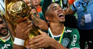 Gabriel Jesus helps Palmeiras clinch record ninth Brazilian title ahead of Manchester City move