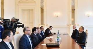 President Ilham Aliyev received delegation led by Iranian Minister of Information and Communications Technology