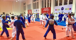 Azerbaijani judo fighters embark on training camp in Georgia