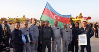 Israel awards Azerbaijani firefighters for contribution to extinguishing Haifa blaze