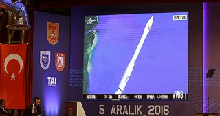 Turkey launches second military surveillance satellite