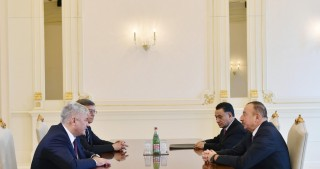 President Ilham Aliyev received Russian Minister of Internal Affairs