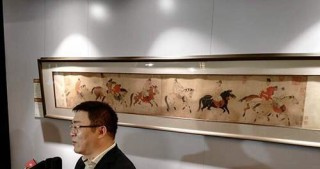 Ancient painting's sale sets record