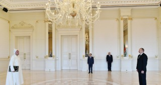 President Ilham Aliyev received credentials of incoming Moroccan Ambassador